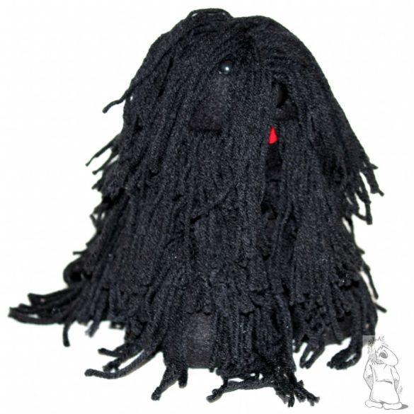 Fekete puli kutya