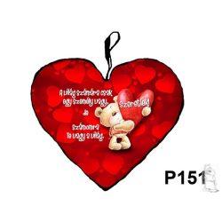 Maci szívvel szív