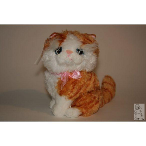 Macska vöröscsikos 20 cm